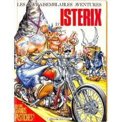 ABAO Bandes dessinées Astérix (Parodie) Les Invraisemblables aventures d'Istérix