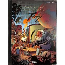 ABAO Bandes dessinées Nouvelle cartographie illustrée du monde de Troy