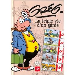 ABAO Bandes dessinées Greg - La triple vie d'un génie TL. 1200 ex.