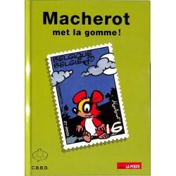 ABAO Bandes dessinées Macherot met la gomme ! TL. 1400 ex.