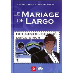 ABAO Bandes dessinées Largo Winch - Le Mariage de Largo TL. 2500 ex.