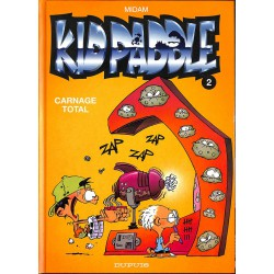 Bandes dessinées Kid Paddle 02