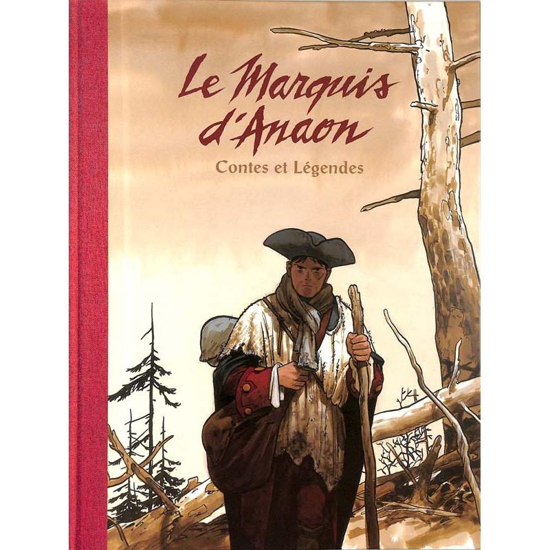 ABAO Bandes dessinées Le Marquis d'Anaon INT.01 TL