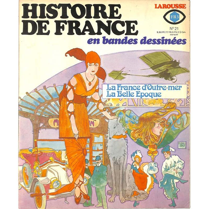 ABAO Histoire de France en bandes dessinées Histoire de France en bandes dessinées 21