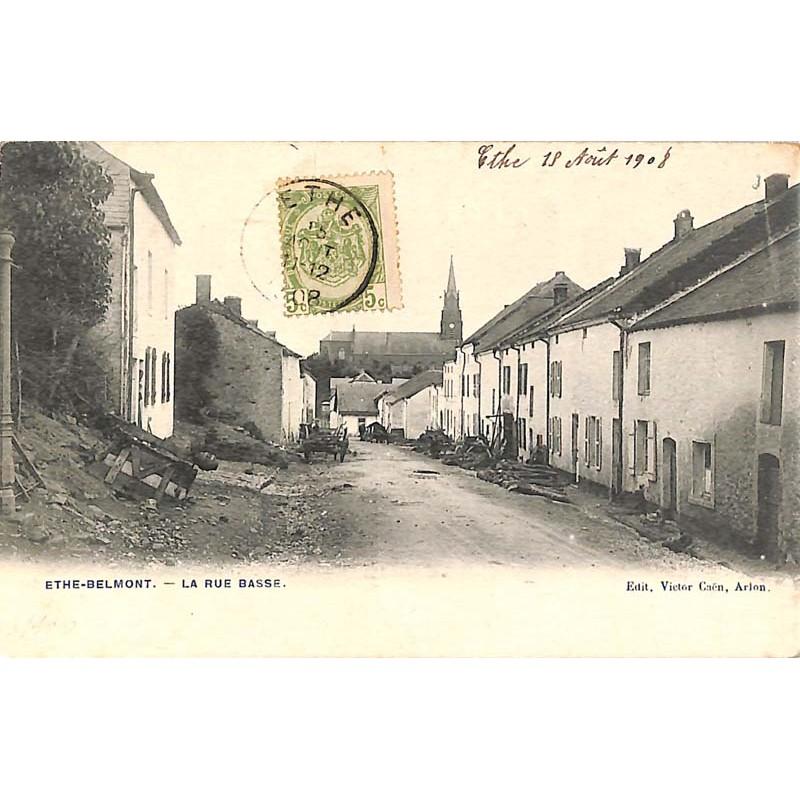 ABAO Luxembourg Ethe - Belmont. La Rue Basse.