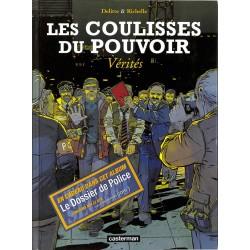 ABAO Bandes dessinées Les Coulisses du pouvoir 04 + Dossier police