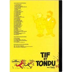 ABAO Bandes dessinées Tif et Tondu (Vache qui médite) 02 TL300 ex.