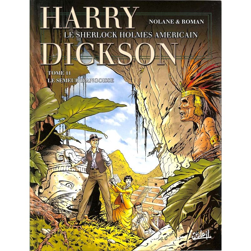 ABAO Bandes dessinées Harry Dickson 11