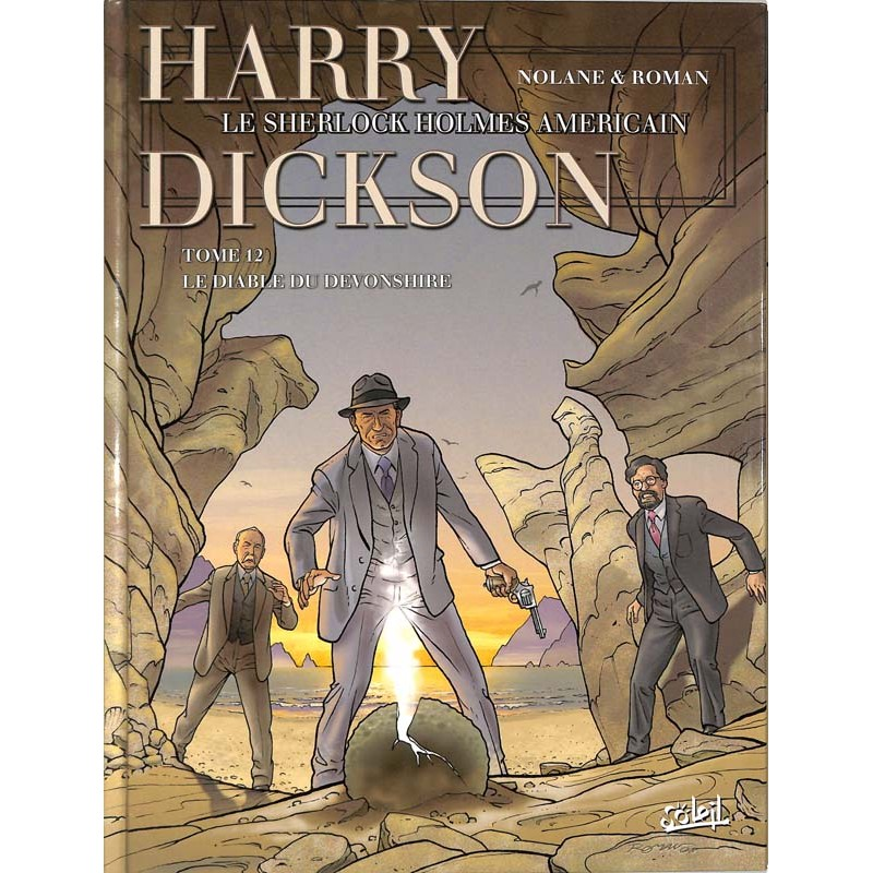 ABAO Bandes dessinées Harry Dickson 12