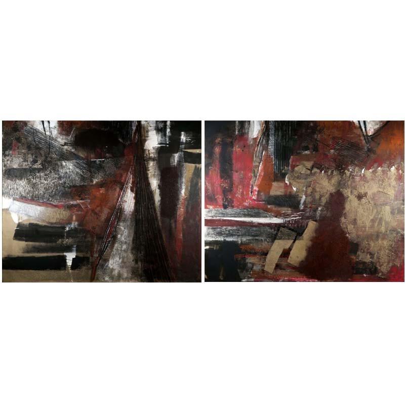 ABAO Art Debatty (Pierre) - Diptyque II.