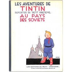 ABAO Bandes dessinées Tintin 01 SP + courrier