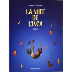 ABAO Bandes dessinées La Nuit de l'Inca 01