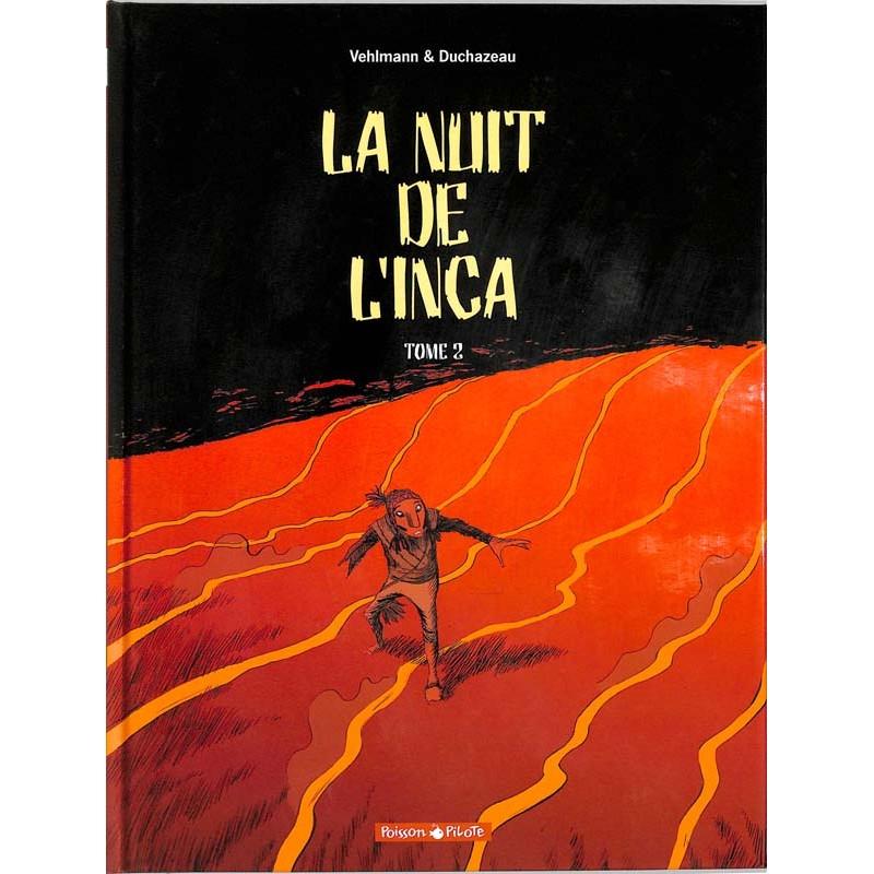 ABAO Bandes dessinées La Nuit de l'Inca 02
