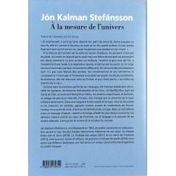 ABAO Romans Stefánsson (Jón Kalman) - À la mesure de l'univers.