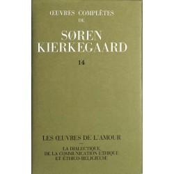 ABAO Romans Kiekegaard (Soren) - Œuvres complètes 14.