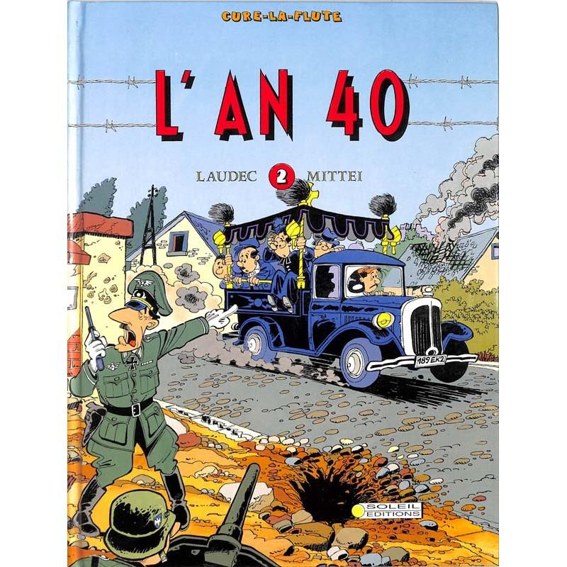 ABAO Bandes dessinées L'An 40 01 (Curé-la-Flute 02)