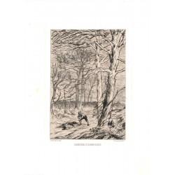 ABAO Gravures Rops (félicien) - Ulenspiegel et le chien blessé.