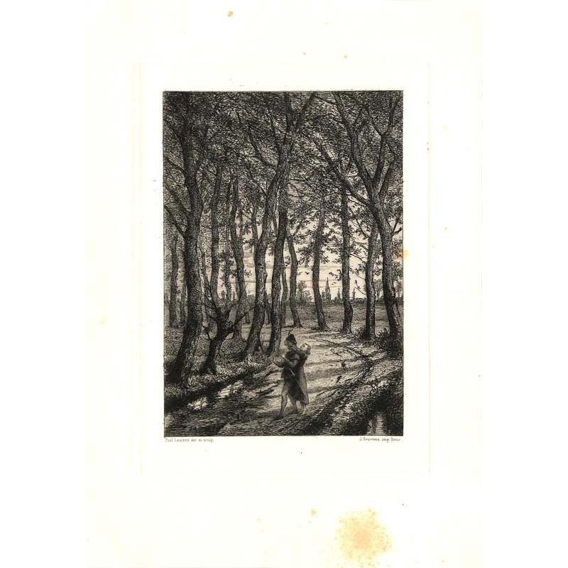 ABAO Gravures Lauters (Paul) - Primes amours.