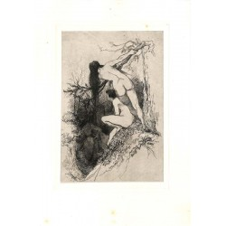ABAO Gravures Van Camp (Camille) - Les Filles-fleurs.