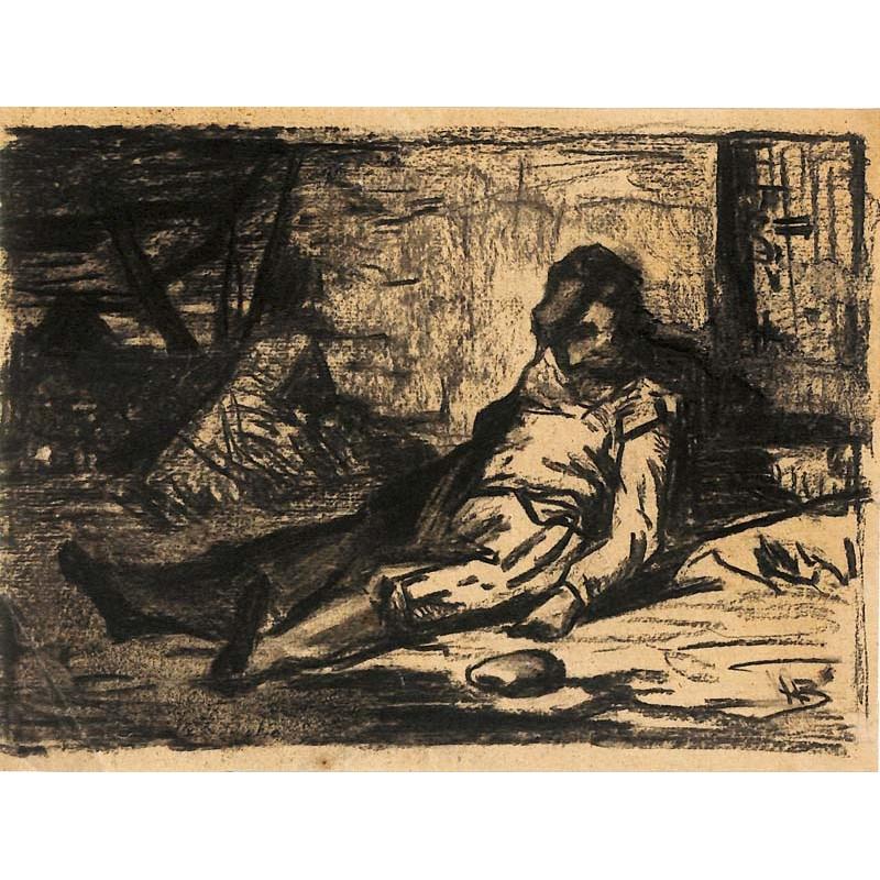 ABAO Originaux Boulenger (Hippolyte) - Le Gardien de Saisie. Dessin.