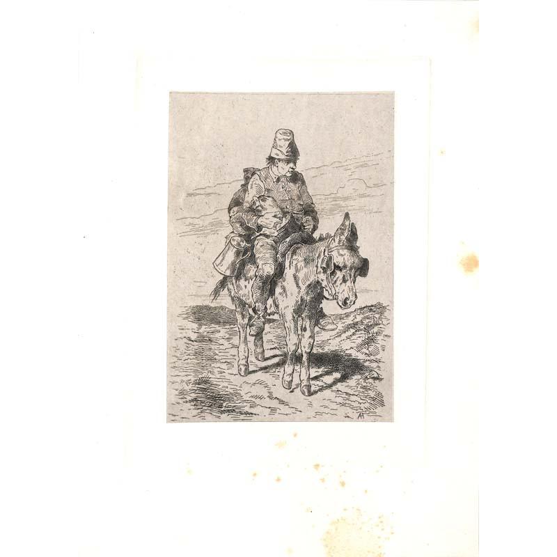 ABAO Gravures Hubert (Alfred) - Claes pèlerinant.