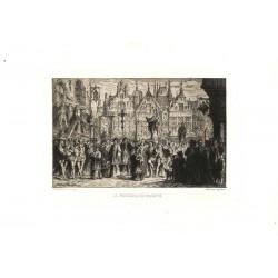 ABAO Gravures Schaefels (Hendrick) - La procession qui se gratte.