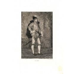 ABAO Gravures Rops (Félicien) - Le Sire de Lumey.