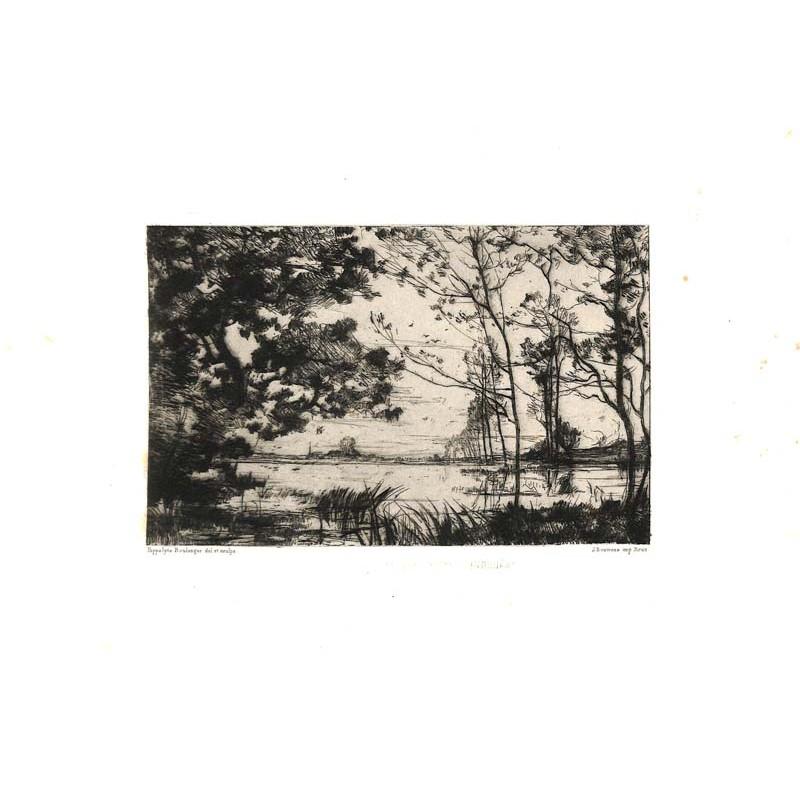 ABAO Gravures Boulenger (Hippolyte) - L'Inondation.