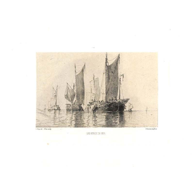 ABAO Gravures Biot (Gustave) - Les Gueux de mer.