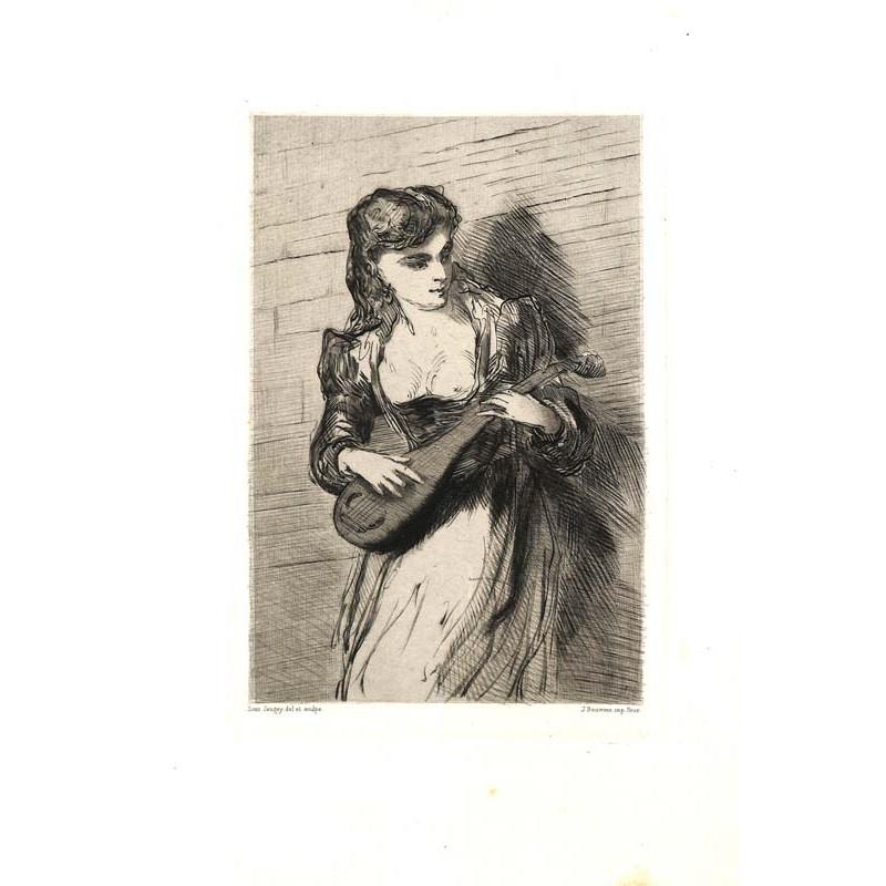 ABAO Gravures Jaugey (Louis) - La Gilline.