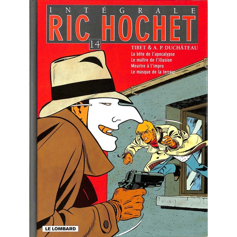 ABAO Bandes dessinées Ric Hochet Intégrale 14