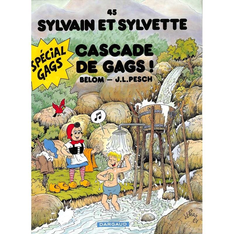 ABAO Bandes dessinées Sylvain et Sylvette (Lombard/Dargaud) 45