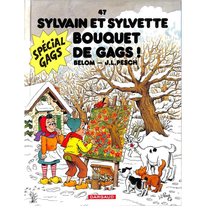ABAO Bandes dessinées Sylvain et Sylvette (Lombard/Dargaud) 47