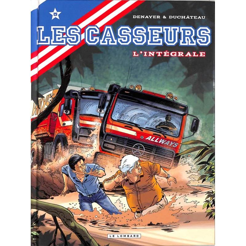 ABAO Bandes dessinées Les Casseurs Intégrale 05