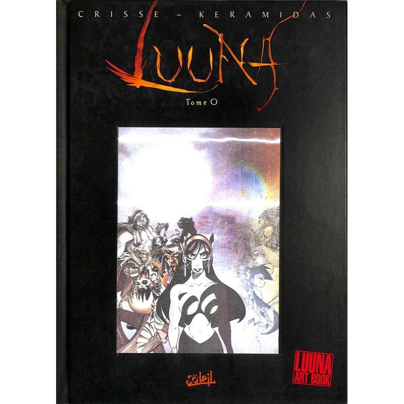 ABAO Bandes dessinées Luuna Art Book