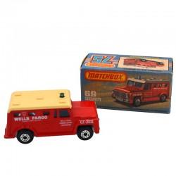 ABAO Automobiles Matchbox (1/64) Security Truck.