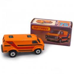 ABAO Automobiles Matchbox (1/64) Chevrolet van.