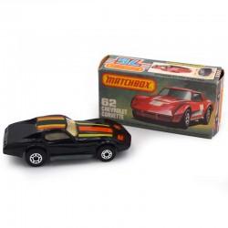 ABAO Automobiles Matchbox (1/64) Chevrolet Corvette.