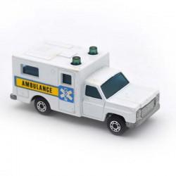 ABAO Automobiles Matchbox (1/64) Ambulance.