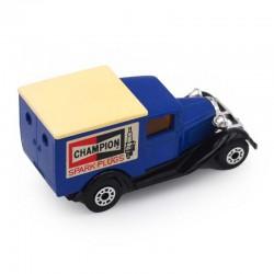 "ABAO Automobiles Matchbox (1/64) Model A van. ""Champion"""