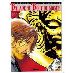 ABAO Bandes dessinées Balade au bout du monde 05 + Ex-Libris.