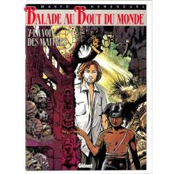 ABAO Bandes dessinées Balade au bout du monde 07 + Ex-libris.