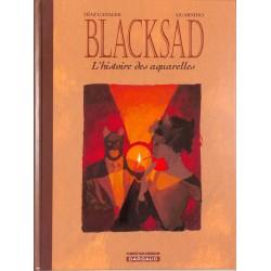 ABAO Bandes dessinées Blacksad - L'Histoire des aquarelles 01 + 02 (EO) sous coffret.