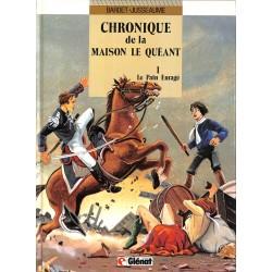 ABAO Bandes dessinées Chronique de la maison Le Quéant 01 + Dédicaces