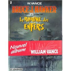 ABAO Bandes dessinées Bruce J. Hawker 07 + jaquette s. & n./500