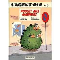 ABAO Bandes dessinées L'Agent 212 05 + dédicace.
