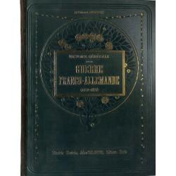 ABAO Guerres Rousset (Lt-Colonnel) - Histoire générale de la guerre franco-allemande. 2 tomes.