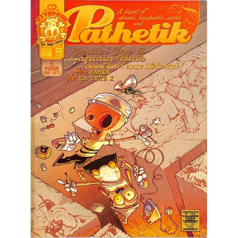 ABAO Bandes dessinées Pathetik 01
