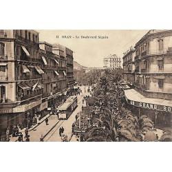 ABAO Algérie Oran - Le Boulevard Séguin.