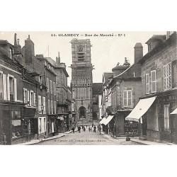 58 - Nièvre [58] Clamecy - Rue du Marché.